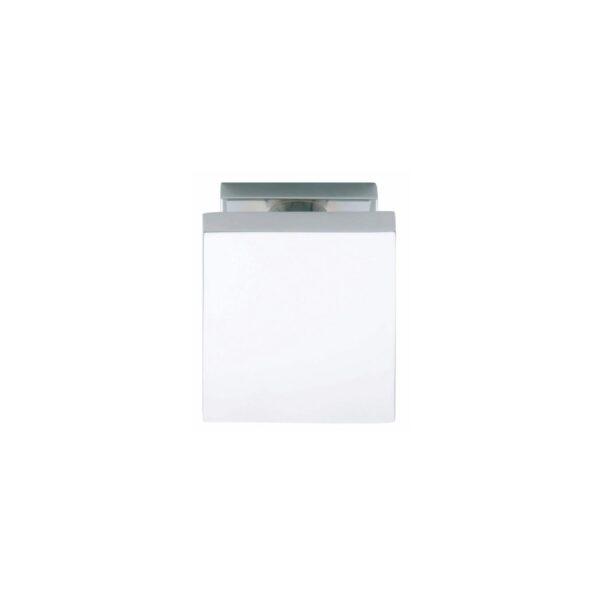 Intersteel Voordeurknop vierkant 65 mm chroom