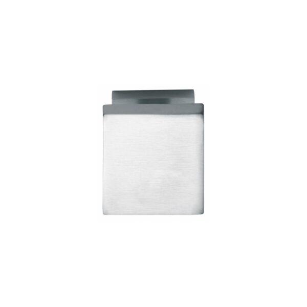Intersteel Voordeurknop vierkant chroom mat