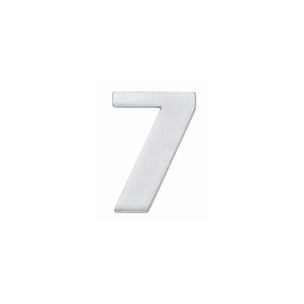 Intersteel Huisnummer 7 chroom mat