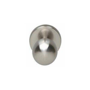 Intersteel Voordeurknop bolrond nikkel mat
