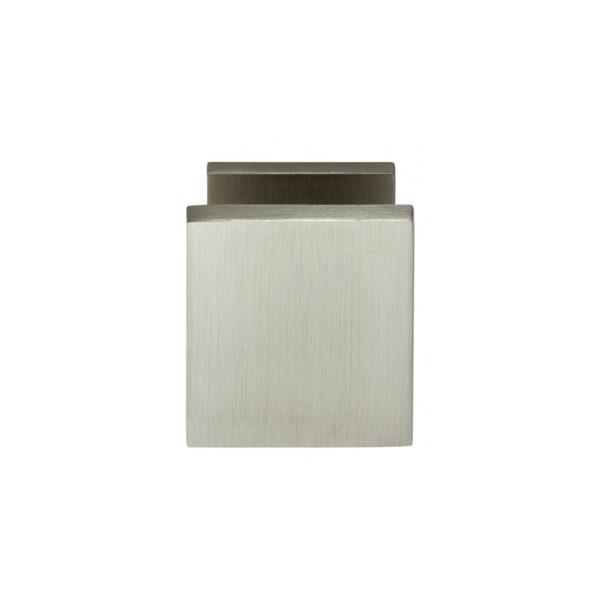 Intersteel Voordeurknop vierkant nikkel mat